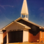 This picture is from the early to mid 1990's, wind guards were installed on the front entry.