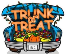 Trunk-Or-Treat @ Church Parking  Lot
